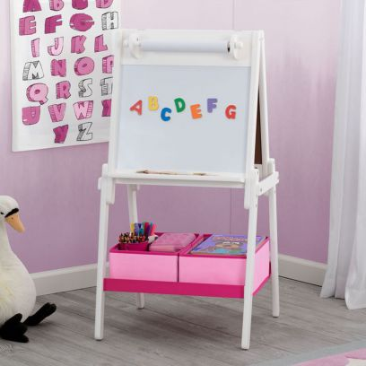 Mysize Double Sided Activity Easel With Paper Roll