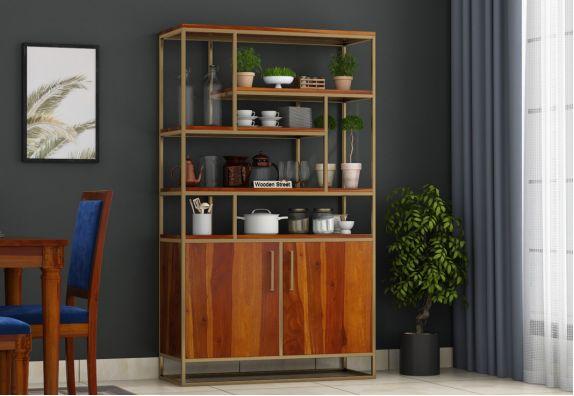 Atris Kitchen Cabinet (Honey Finish)