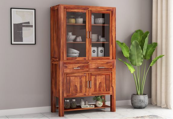 Maglory Kitchen Cabinet (Honey Finish)