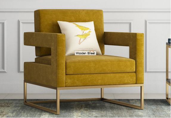wooden lounge chair for living room