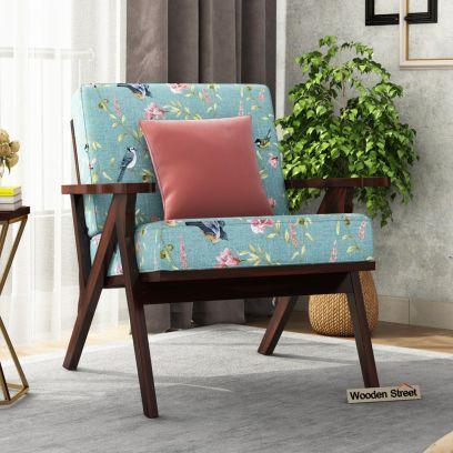 Crisper Arm Chair (Cotton, Bubble Robins)