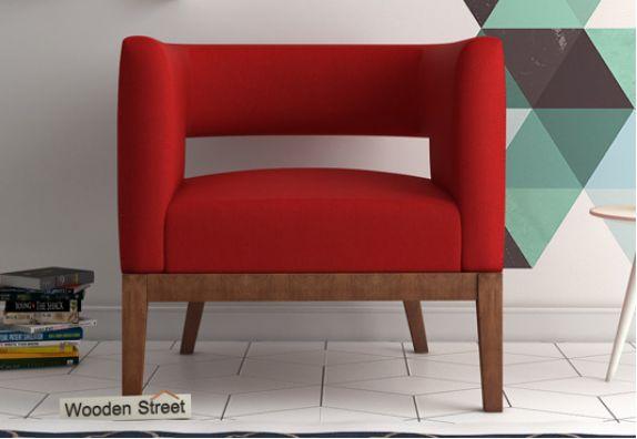 Wolper Lounge Chair (Dusky Rose)