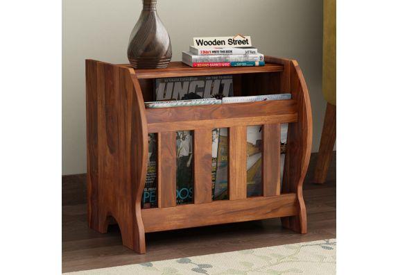 Wooden Magazine Holder: Buy Online from WoodenStreet