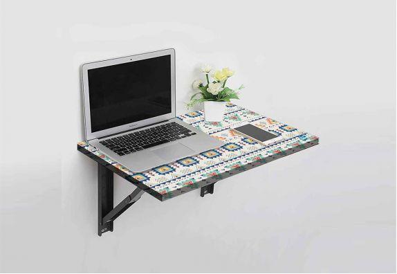 Aztec Paste Designer Sun Board Wall Mounted Study Table