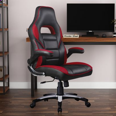 Black and Red Designer Gaming Chair
