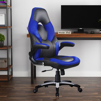 Blue and Black Gaming Chair in Delhi | Office Chair