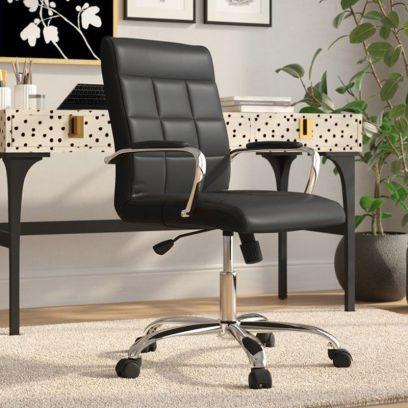 MB PU Leatherette Executive Task Chair (Black)