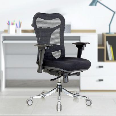 Featherlite Optima Medium Back Mesh Chair