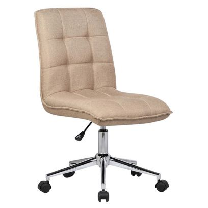 Porthos Home Lada Adjustable Swivel Fabric Office Chair (Brown)