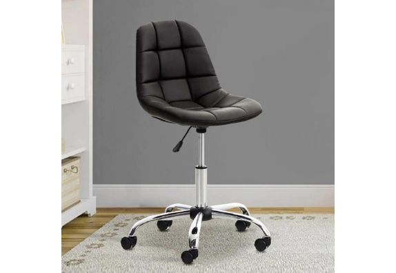 Rochelle Leatherette Office Chair (Brown)