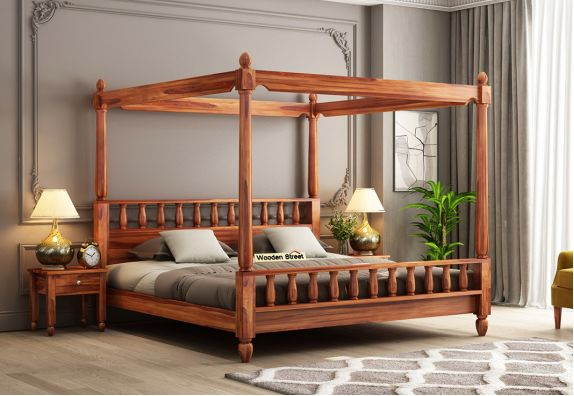 queen size 4 poster bed designs, solid wood queen size cots