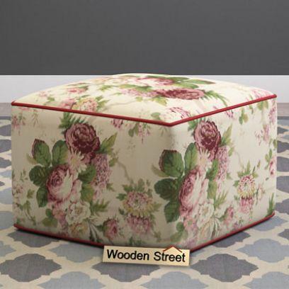 storage ottomans india, poufs online