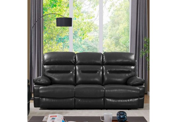 3 Seater Recliner Sofa for Office Reception