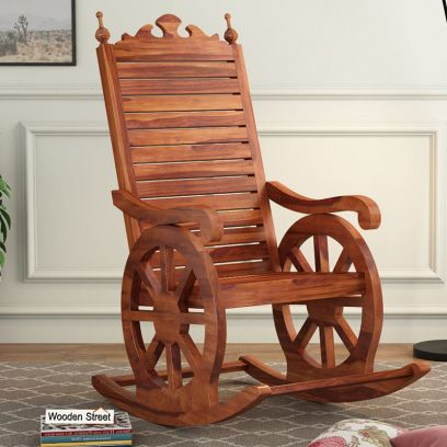 wooden rocking easy chairs online