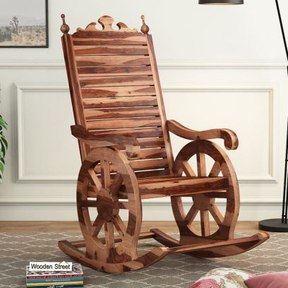 buy wooden rocking chairs online india, easy chair