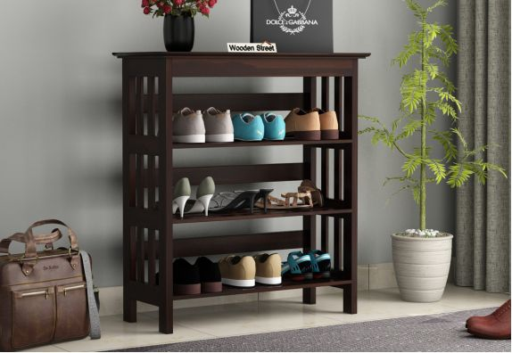 shoe stand designs with seat for samll spaces