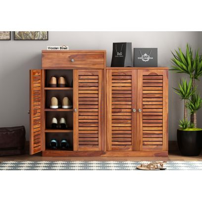 buy wooden shoe rack & stand online in Chennai, India