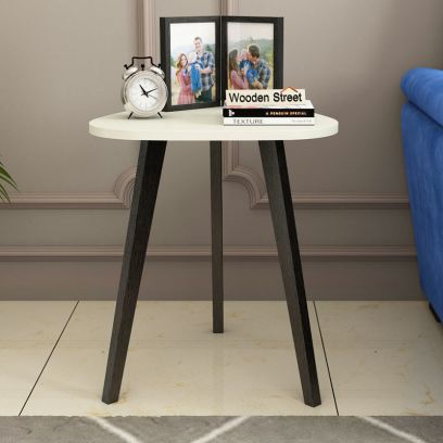 Trico Side End Table (Flowery Wenge Finish)