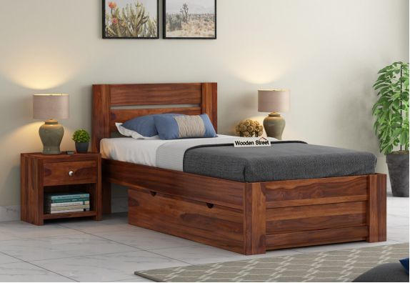 wood single beds with storage, Beds, Bed, Beds online, Wooden Bed