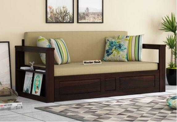 mango wood sofa cum bed in bangalore, mumbai