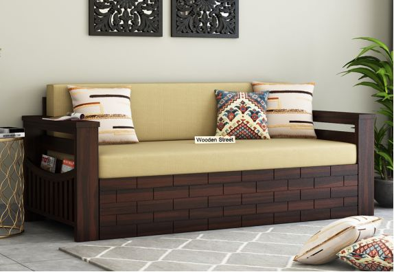sofa cum bed design with price Pune