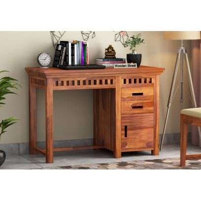 wooden study table online in Mumbai