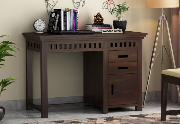 Buy Sheesham wood Study Desk online India, Office Furniture Online