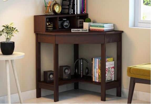 Wooden study table design online in India