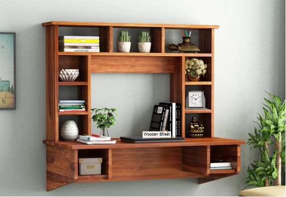 Study desk designs with storage