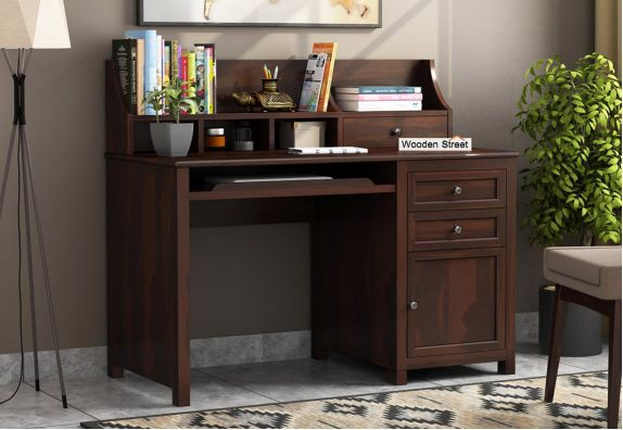 Executive table for Study: Buy Wooden Office Table Online Bangalore, Pune, Mumbai