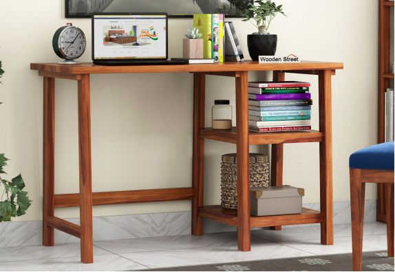 Solid wood Study Desk  Designs