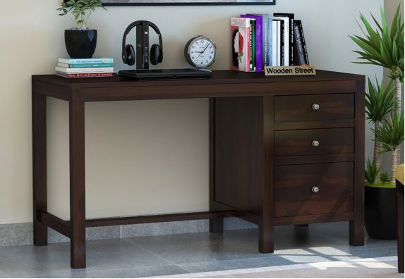 Writing Table: Slater Study Table With Drawer