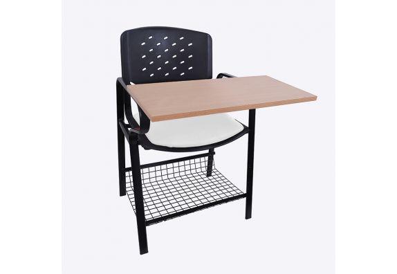 Powder Coated Heavy Frame Training Chair (White)