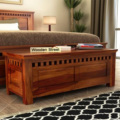 Wooden Blanket Boxes