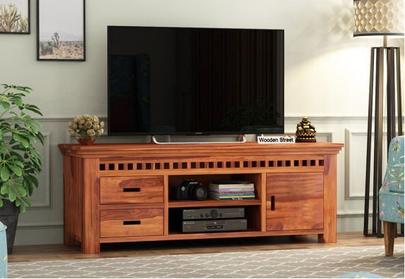 Buy TV Unit | TV Stand Online from WoodenStreet