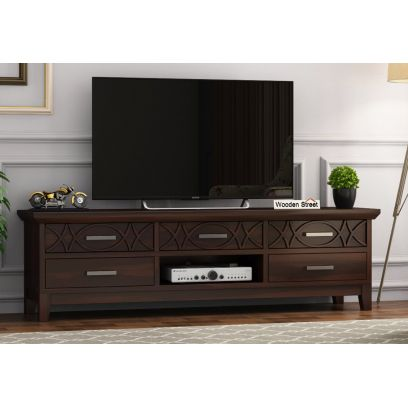 Wooden Tv stands online for living room in Bangalore, India