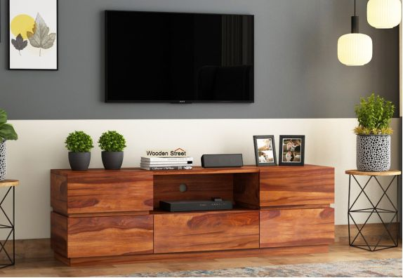 Wooden LED Tv Stands Online in Pune India