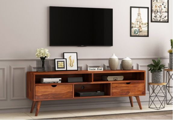 Wooden TV Entertainment Unit Online in India