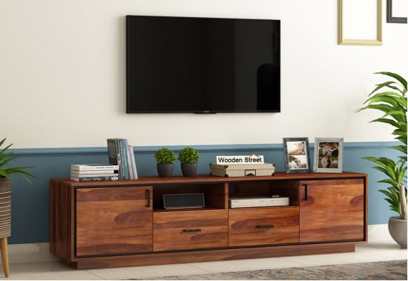 Wooden TV Unit & Stand Buy Onine from WoodenStreet
