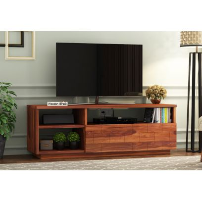 Wooden TV Stands for Living Room Buy Online from WoodenStreet