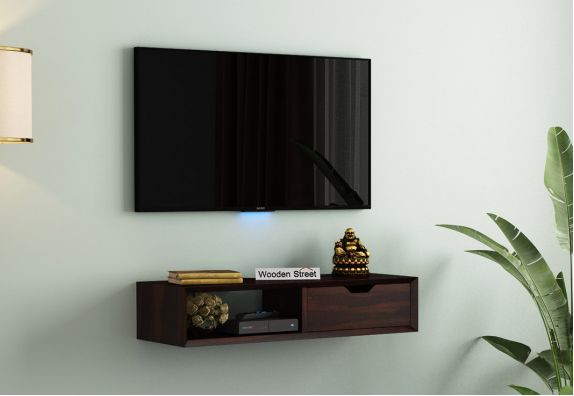 Wall Mounted TV Unit with Storage