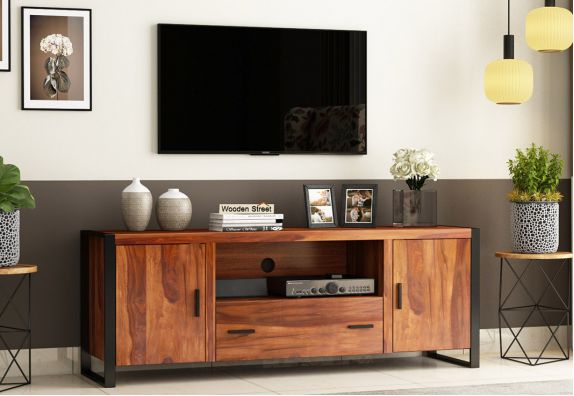 Modern TV Cabinet Design by WoodenStreet