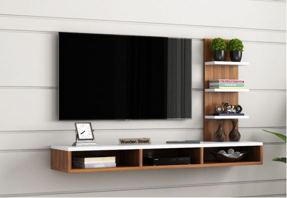 Wall Mount TV Cabinet Design for Modern Style Home