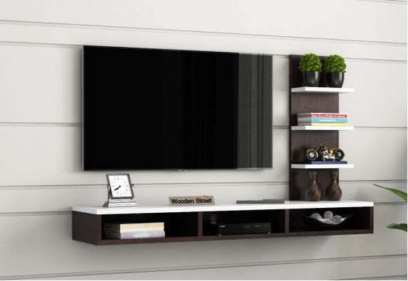 Wall Mounted Modular TV Unit Design for Living Room