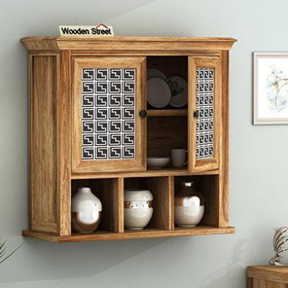 Kitchen Shelf Buy Wooden Kitchen Shelves Online India Best Price