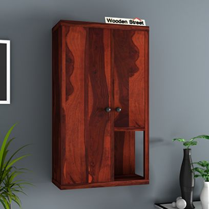wooden wall cabinet online India