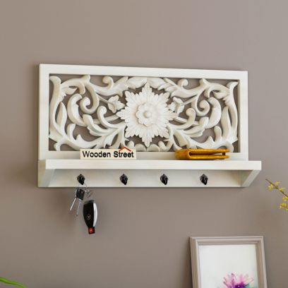 Dally Key Holder with Wall Shelf