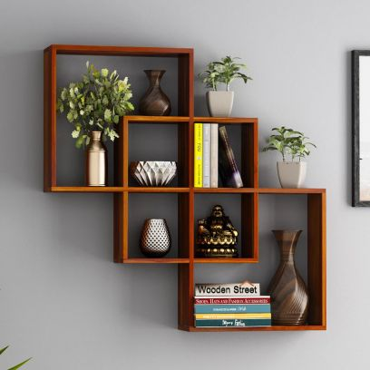 Buy Wall Shelves For Living Room in Bangalore, India