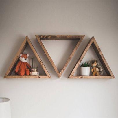 Pyra Wall Shelf Set of 3