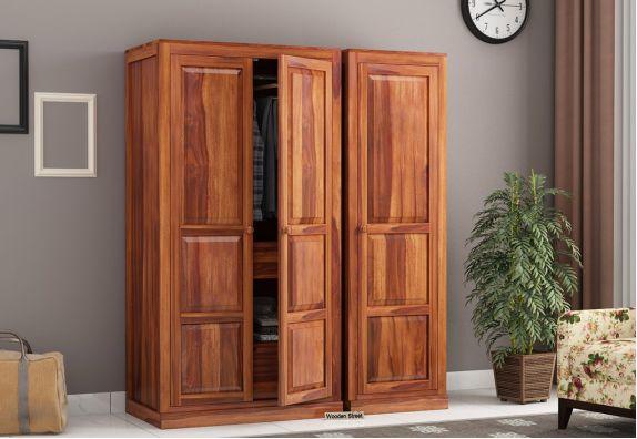 Charles 3 Door Multi Utility Wardrobe Online India